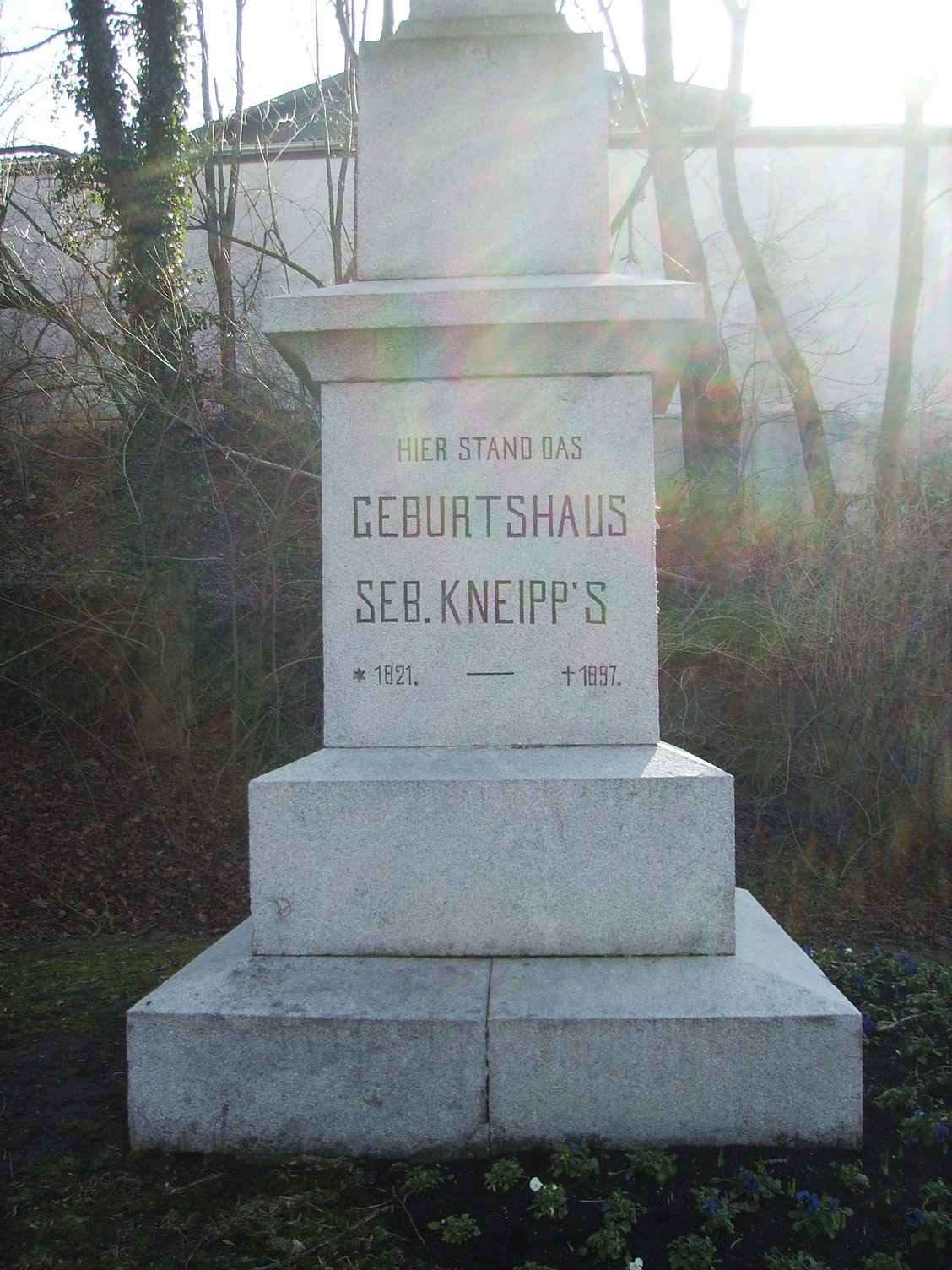 Kneippdenkmal Stephansried