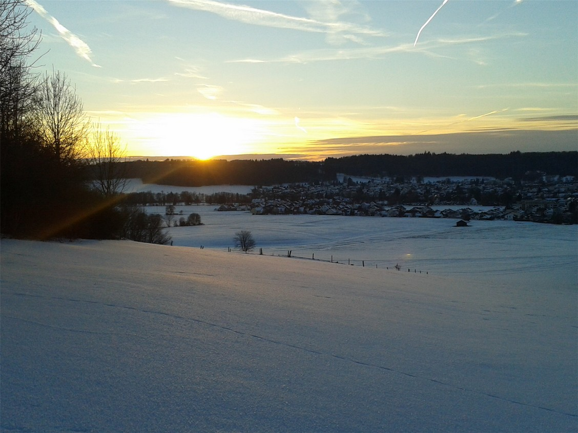 Winterabend in Ottobeuren